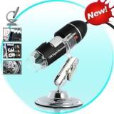 USB Skaitmeninis Mikroskopas 1000x Didinimas + 8 LED Apšvietimas