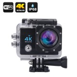 "4K Veiksmo kamera Wifi Waterproof Sports Action Camera - 4K ULtra HD, 16MP, 170° Filmavimo kampas, 2"" Ekranas, HDMI out"